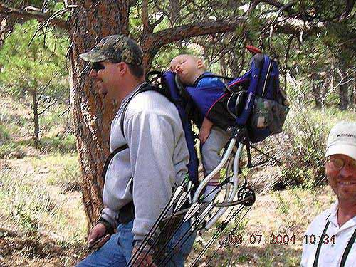 2004 Bowhunters Weekend One worn out shooter