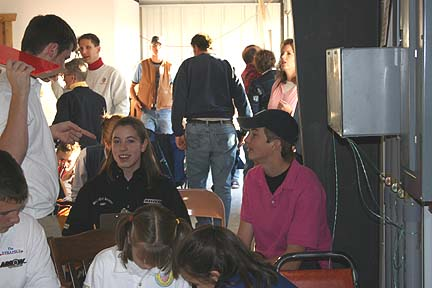 2005 JOAD Talking with new friends