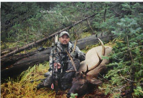 2004 Elk Carl Pacheco from