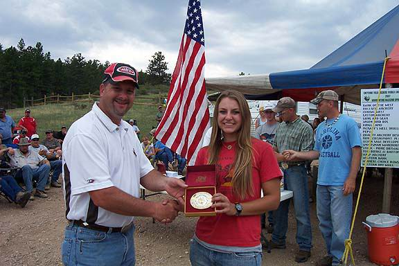2007 Bowhunters Weekend Winner Womens Bowhunter