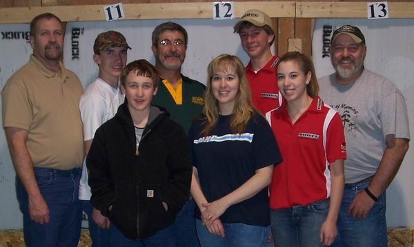 2007 WSAA CFA members attending the State indoor